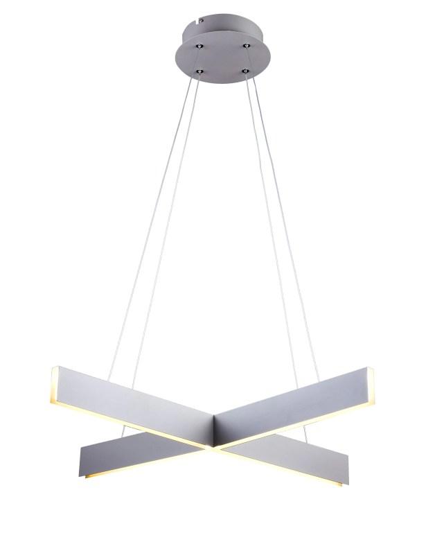 Sirabella Geometric Chandelier Finish: Light Gray