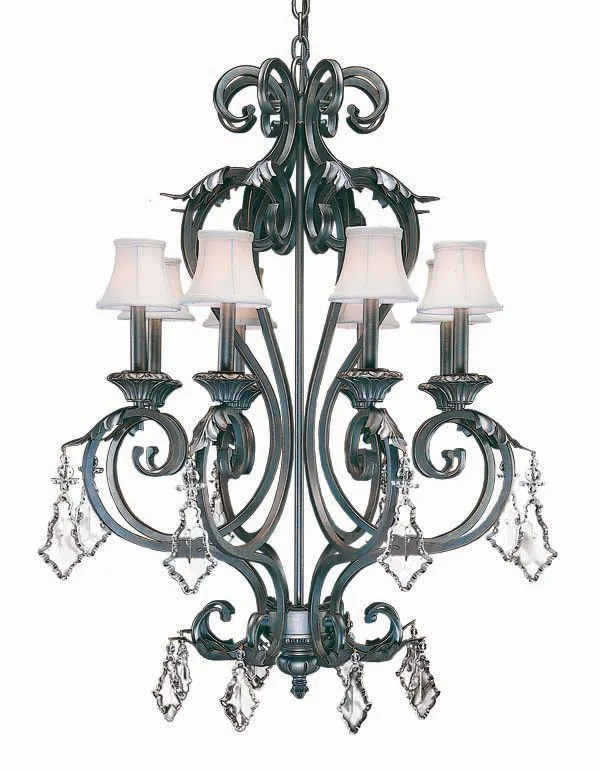 Josephine 8-Light Shaded Chandelier