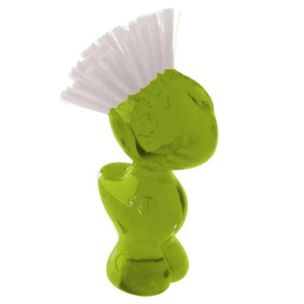 Tweetie Vegetable Brush Color: Transparent Green