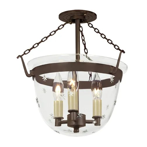 3-Light Urn Pendant Finish: Oil Rubbed Bronze