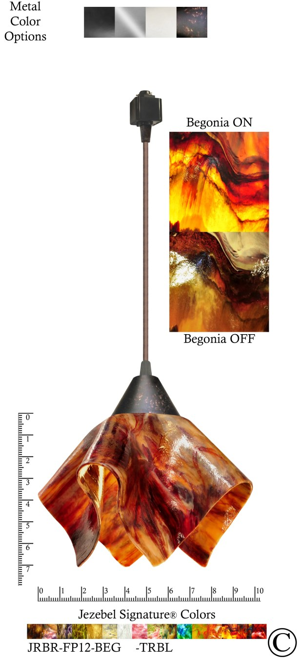 Signature� Flame 1-Light Novelty Pendant Finish: Brown, Size: Small, Shade Color: Begonia