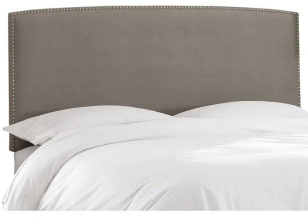 Mara Upholstered Panel Headboard Size: Full
