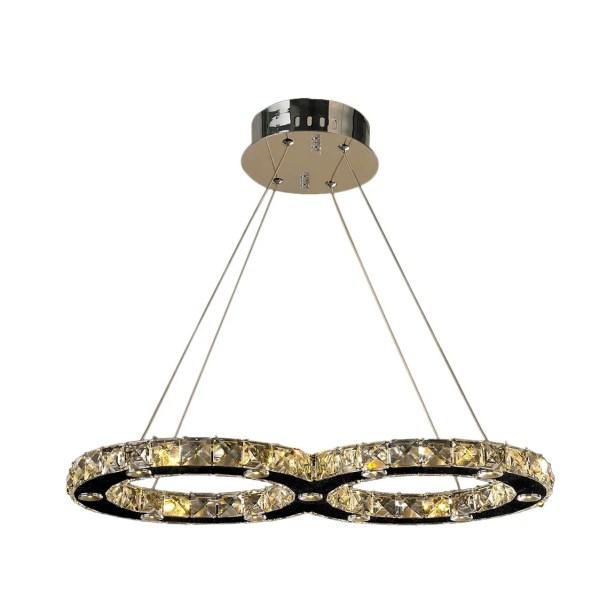 Leiter 22-Light LED Crystal Chandelier Size: 22