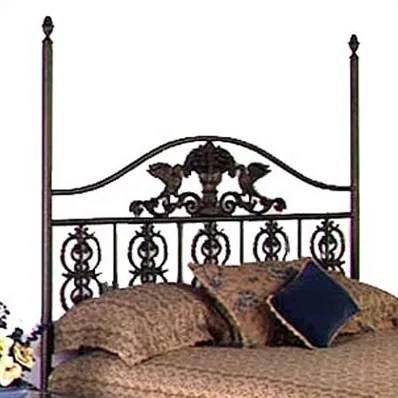 Harvest Open-Frame Headboard Size: Twin, Color: Ivory