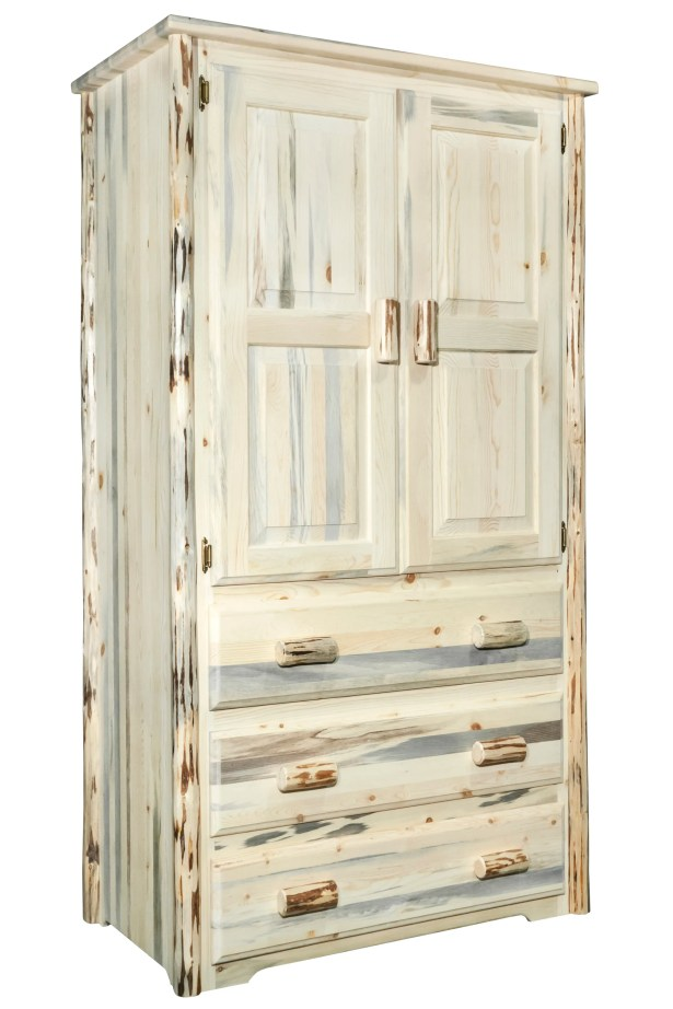 Abordale Armoire Finish: Unfinished