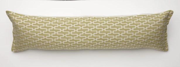 Dream Weave Body Pillow Color: Key Lime