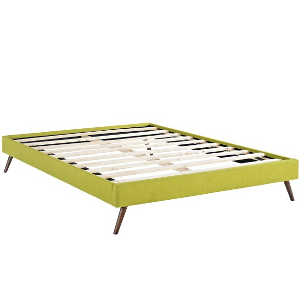 Helen Bed Frame Size: Full, Color: Wheatgrass