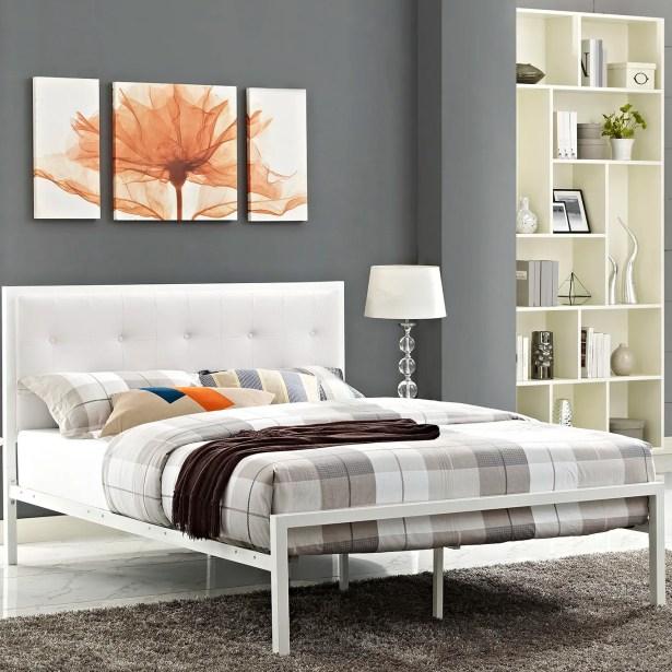 Lottie Upholstered Platform Bed Size: King