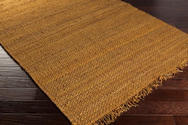 Pineda Yellow Area Rug Rug Size: Rectangle 9' x 12'