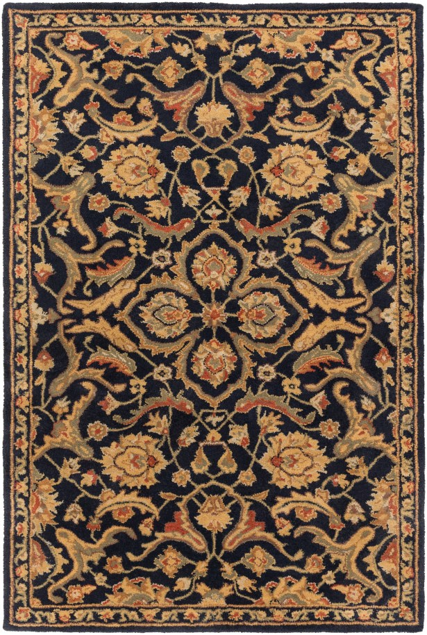 Phillip Navy Area Rug Rug Size: Rectangle 5' x 8'