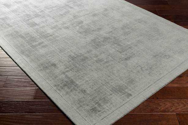 Natalie Hand-Loomed Charcoal Area Rug Rug Size: Rectangle 5' x 7'6