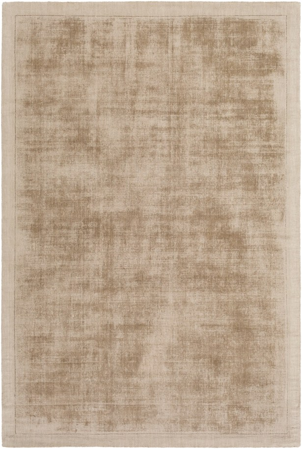 Natalie Hand-Loomed Taupe Area Rug Rug Size: Rectangle 9' x 12'