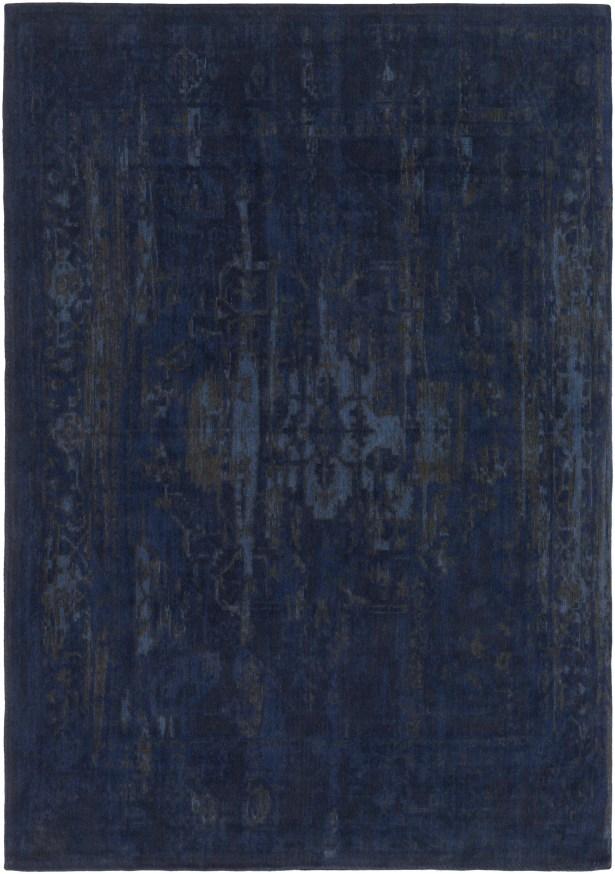 Mcintosh Hand Woven Navy/Gray Area Rug Rug Size: Rectangle 8' x 10'
