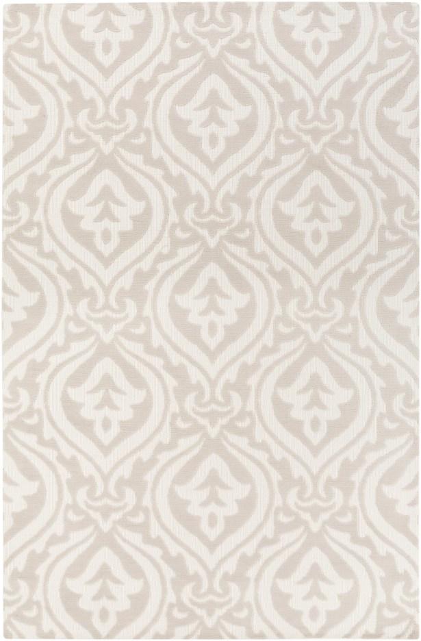 Lachapelle Ivory/Beige Area Rug Rug Size: Rectangle 5' x 7'6