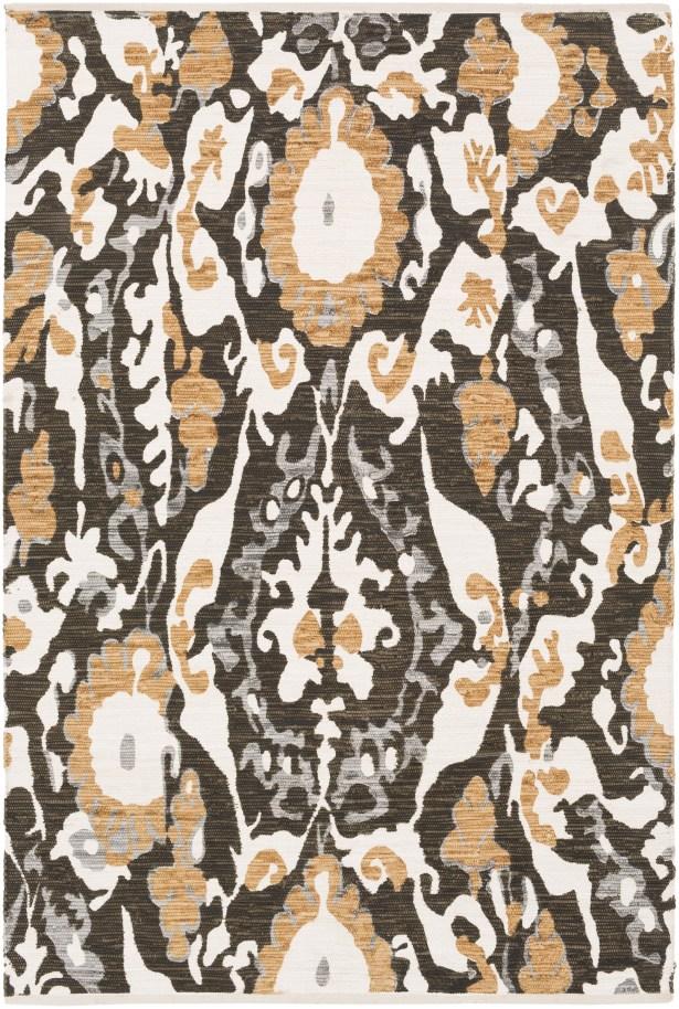 Juarez Hand-Woven Brown Area Rug Rug Size: Rectangle 8' x 11'