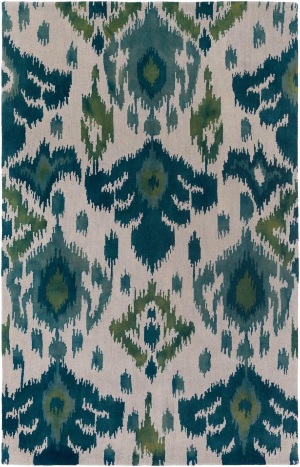 Gioia Hand-Tufted Green Area Rug Rug Size: Rectangle 4' x 6'