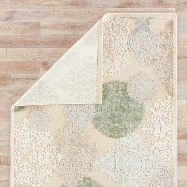 Styers Floral Area Rug Rug Size: 8' X 8'