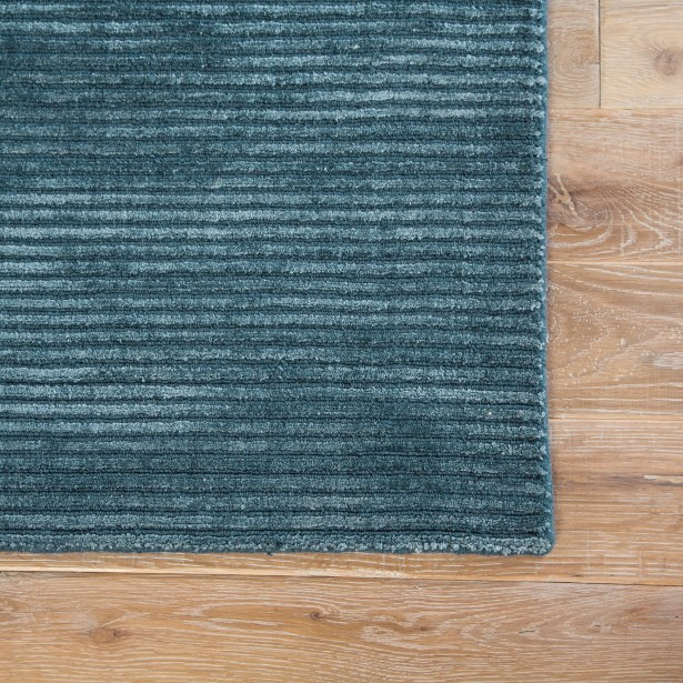 Phase Hand Woven Indigo Area Rug Rug Size: Rectangle 8' x 10'