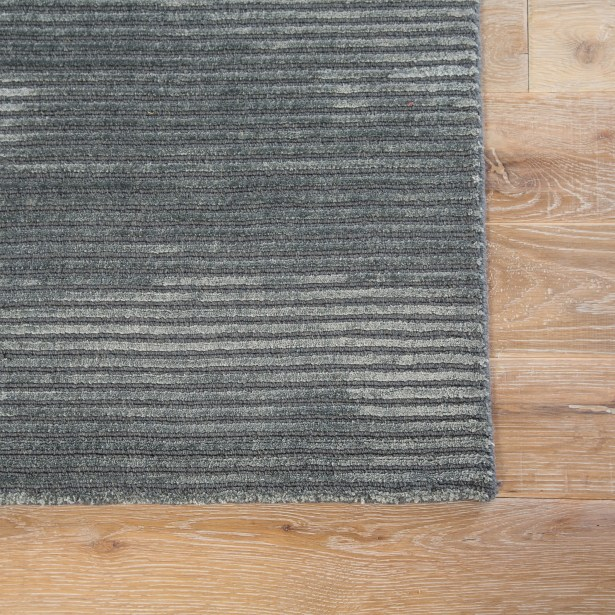 Phase Hand Woven Gray Area Rug Rug Size: Rectangle 5' x 8'
