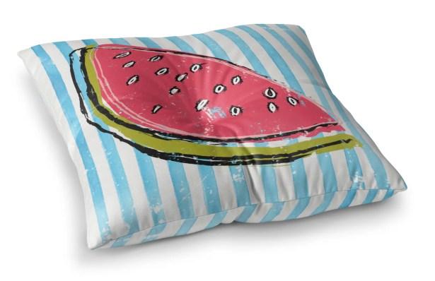 Crabtree Whatthemelon Outdoor Floor Pillow Size: 6