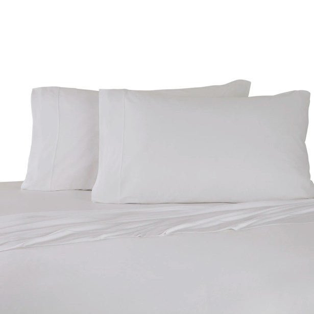 Bare Necessities Jersey Modal Cotton Sheet Set Color: White, Size: King