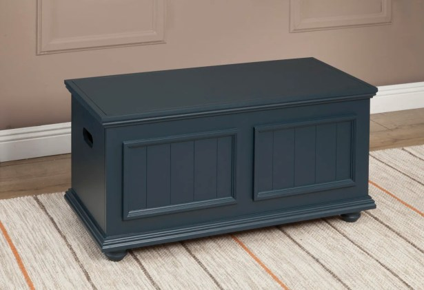 Baileyville Coffee Table Color: Midnight Green