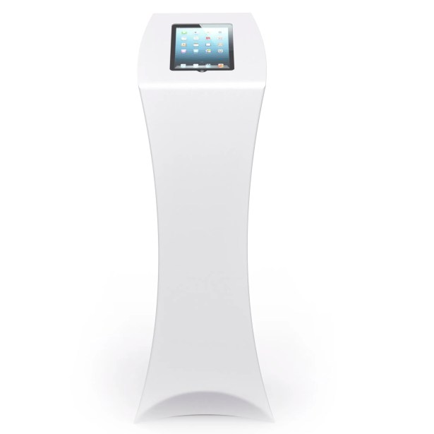 Tablet Tower Portrait Stand