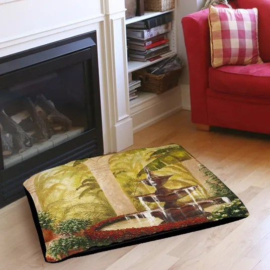 Palm Garden II Indoor/Outdoor Pet Bed Size: 50
