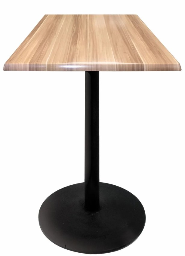Bar Table Color: Natural, Table Size: 36