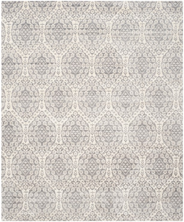January Gray/Cream Area Rug Rug Size: Rectangle 8' x 10'