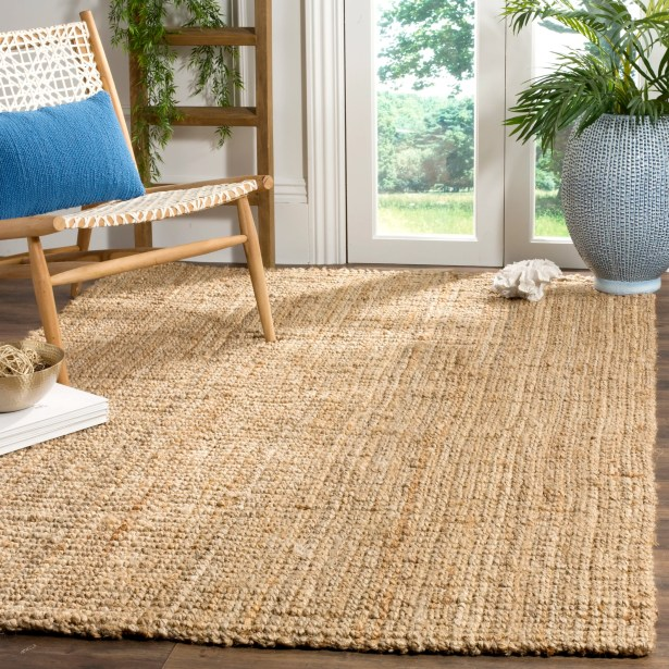 Richmond Hand-Woven Brown Area Rug Rug Size: Rectangle 6' x 9'