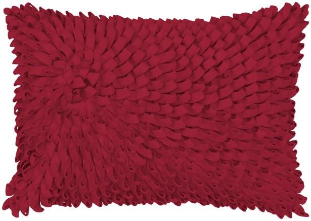 Felt Loops Lumbar Pillow