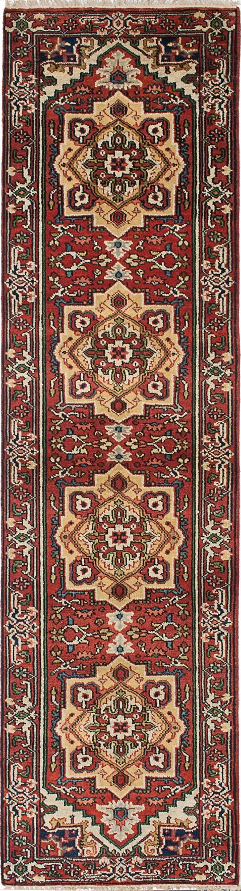 One-of-a-Kind Doerr Hand-Knotted Red Area Rug