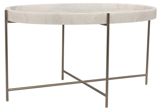 Che Coffee Table Finish: Antique Silver