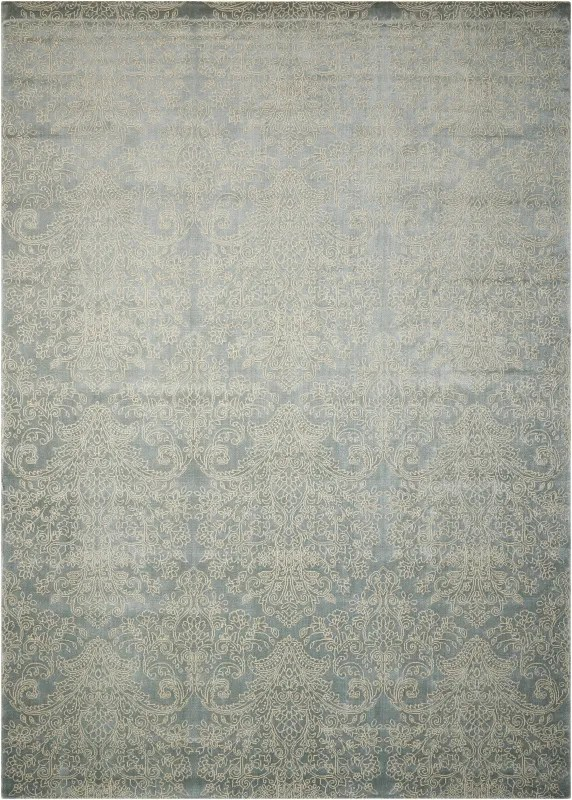 Platine Hand-Woven Blue Area Rug Rug Size: Rectangle 3'5