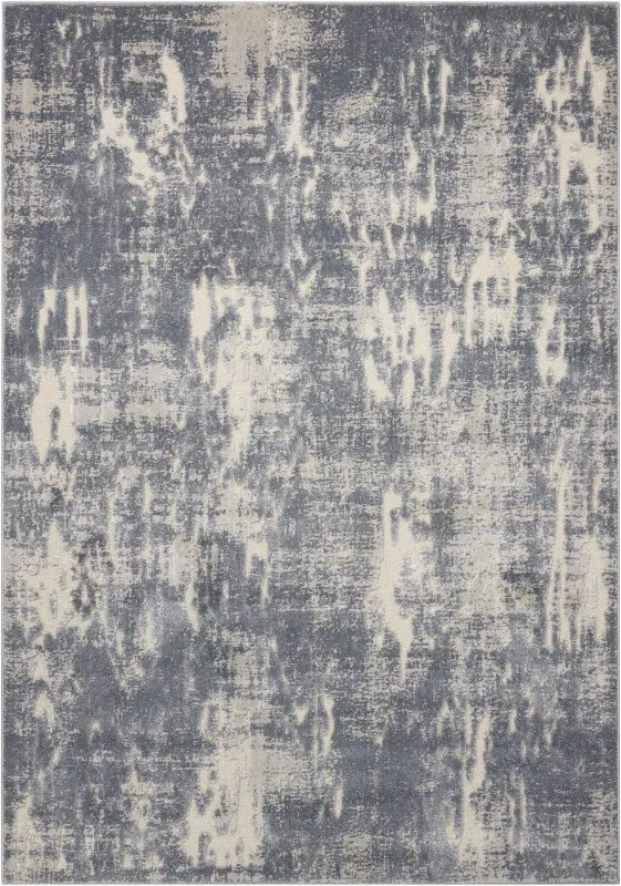 Gleam Slate Area Rug Rug Size: Rectangle 7'10