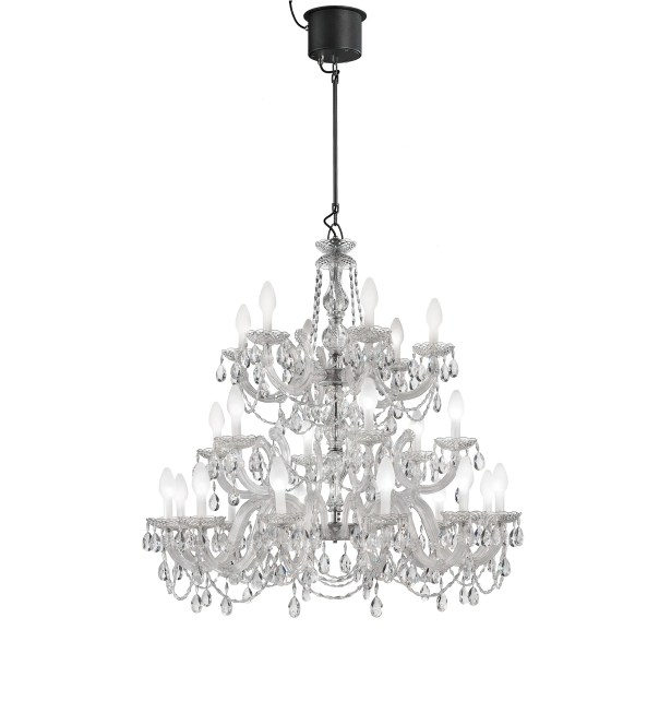 Drylight LED 24 Light Candle Style Chandelier