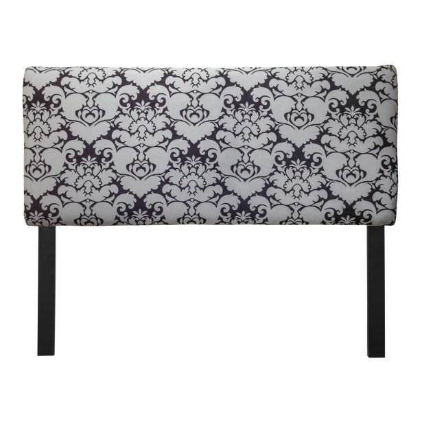 Ali Baroque Upholstered Panel Headboard Size: Twin