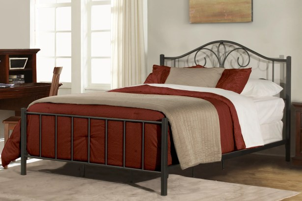 Keele Panel Bed Size: King