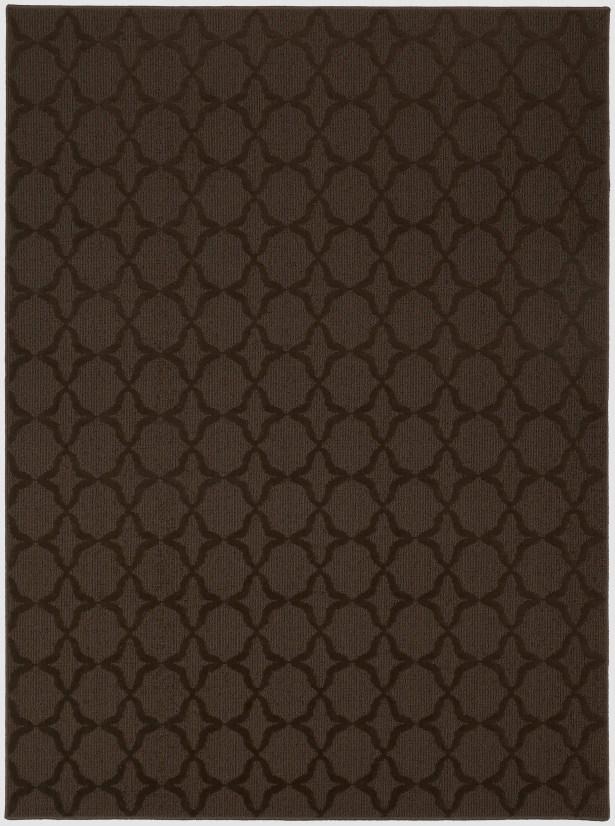 Southington Brown Area Rug Rug Size: Rectangle 9' x 12'