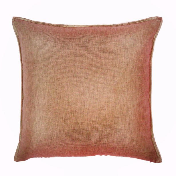 Bedford Throw Pillow Color: Melon