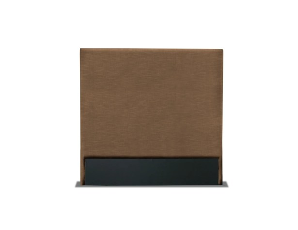 Handley Plain Upholstered Headboard Color: Brown, Size: Mid Height Queen