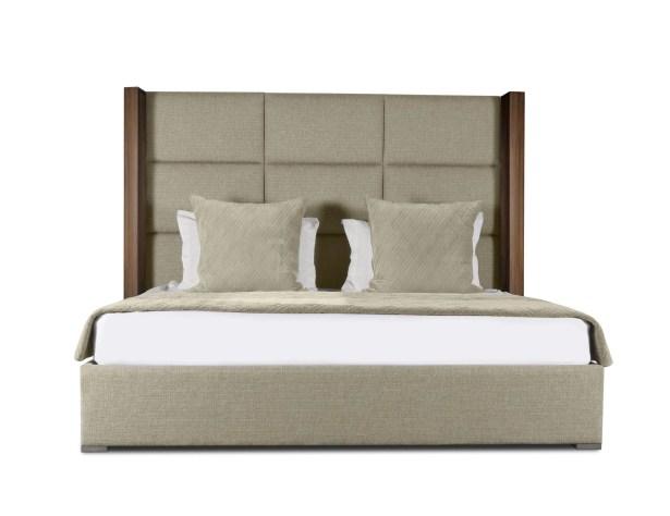 Harborcreek Upholstered Platform Bed Size: High Height King, Color: Sand