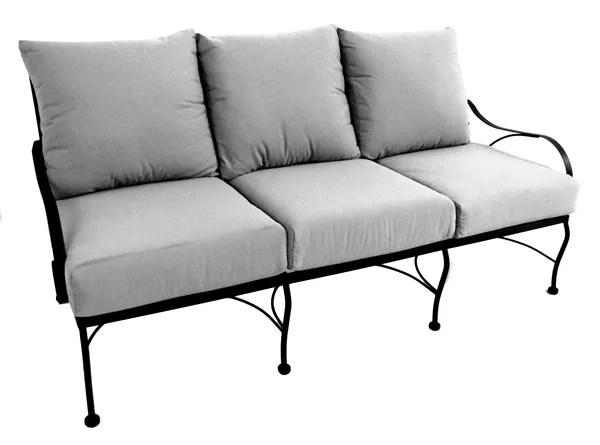 Monticello Deep Seating Sofa Sofa Fabric: Canvas Cocoa