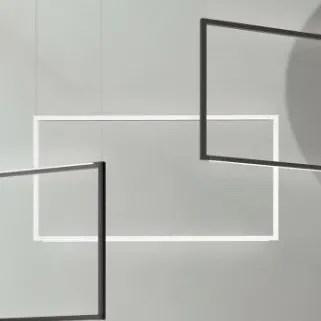 Spigolo  LED  Pendant Finish: White