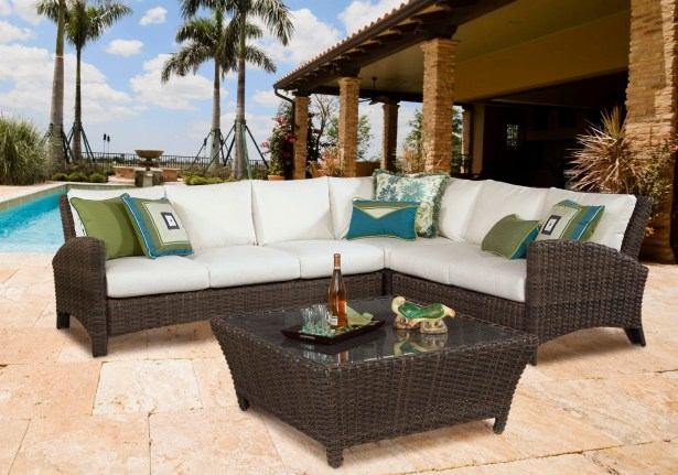 Sousa Sectional with Cushion Color: Cast Slate