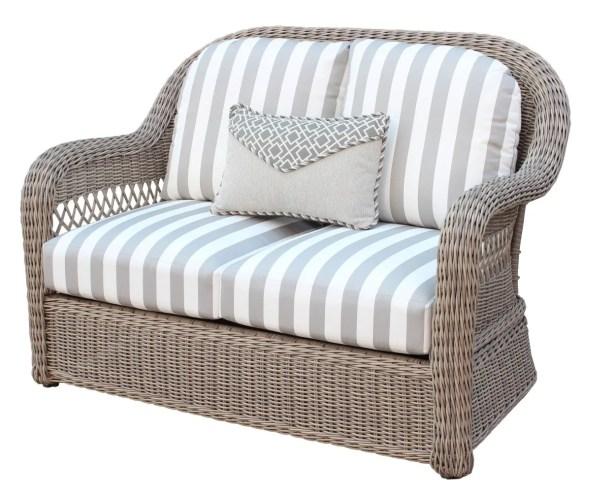 Britt Loveseat with Cushion Color: Peridot