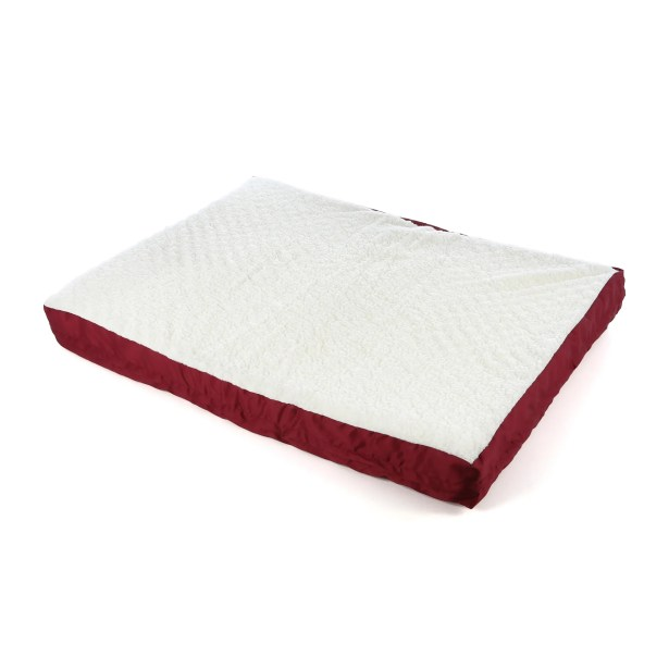Quiet Time e'Sensuals Double Thick Orthopedic Dog Pillow Size: Large (40