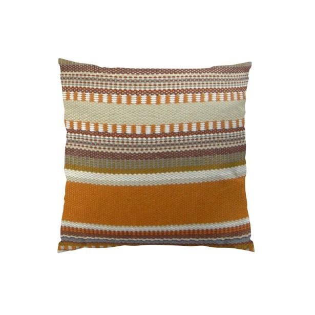 Chic Stripe Handmade Throw Pillow Size: 12