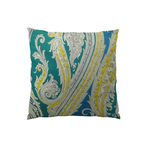 Fun Paisley Lumbar Pillow Size: 12